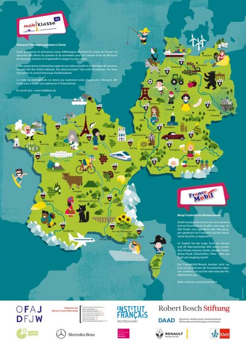 Deutschland Frankreich Karte.Frankreich Deutschland Ina Meillan